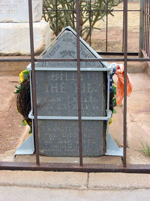 Billy The Kid S Tombstone Fort Sumner New Mexico