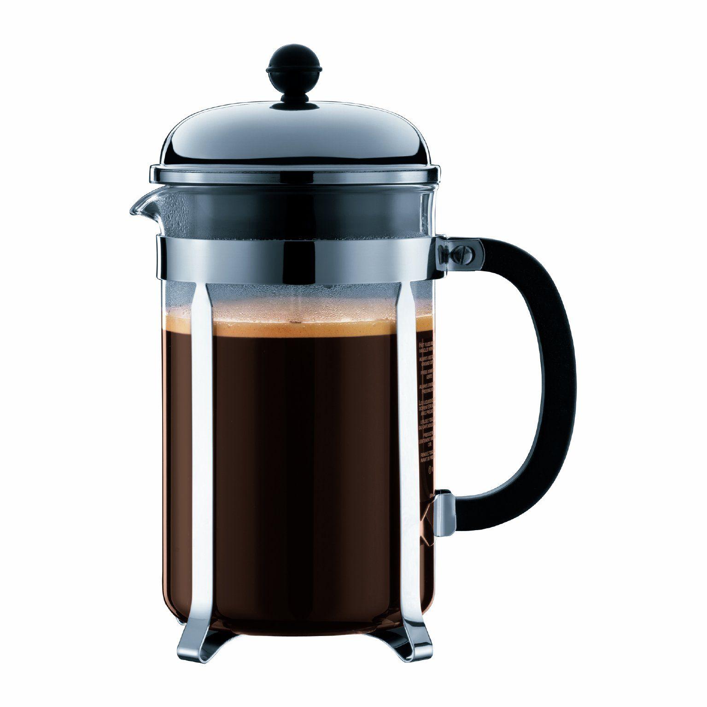 8a4d21588aec87c2e3ae976167e052d5 Bodum Glass Amp Stainless Steel Oz French Press Coffee Maker