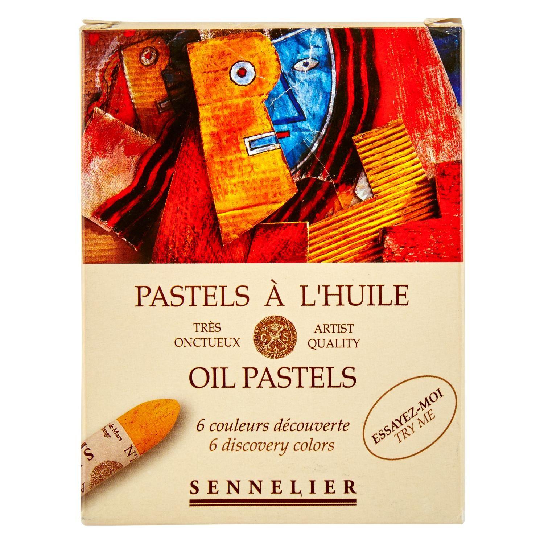 Oil Pastel Discovery (Set Of 6). Originally