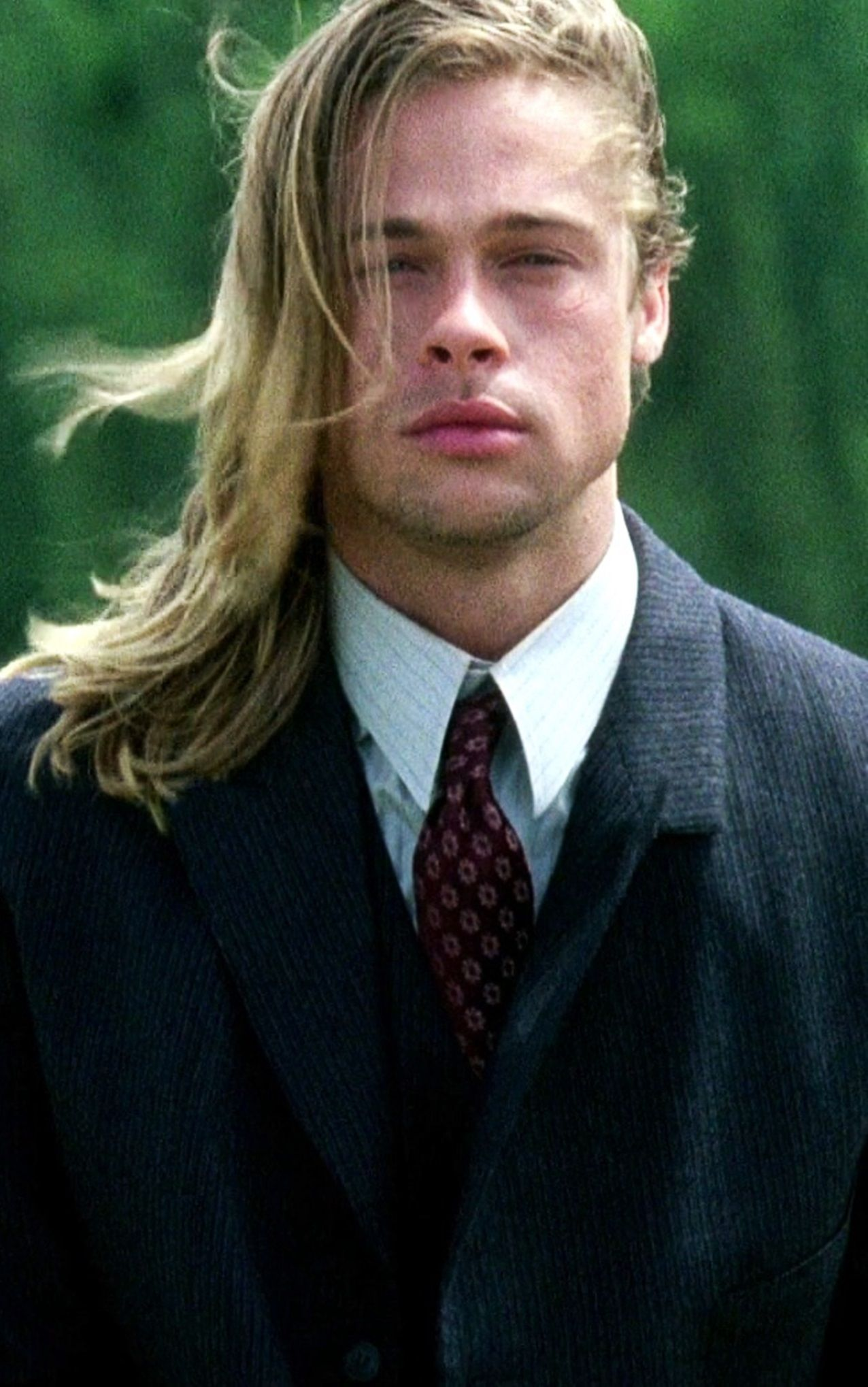 brad pitt legends of the fall one of my faves mens with long hair pinterest schauspieler. Black Bedroom Furniture Sets. Home Design Ideas