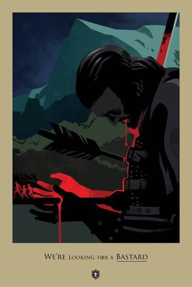 Ser Amory Lorch quote - 'What Is Dead May Never Die' (S2, E3) / Game of Thrones Death Poster    http://mashable.com/2014/02/03/beautiful-death-poster-series