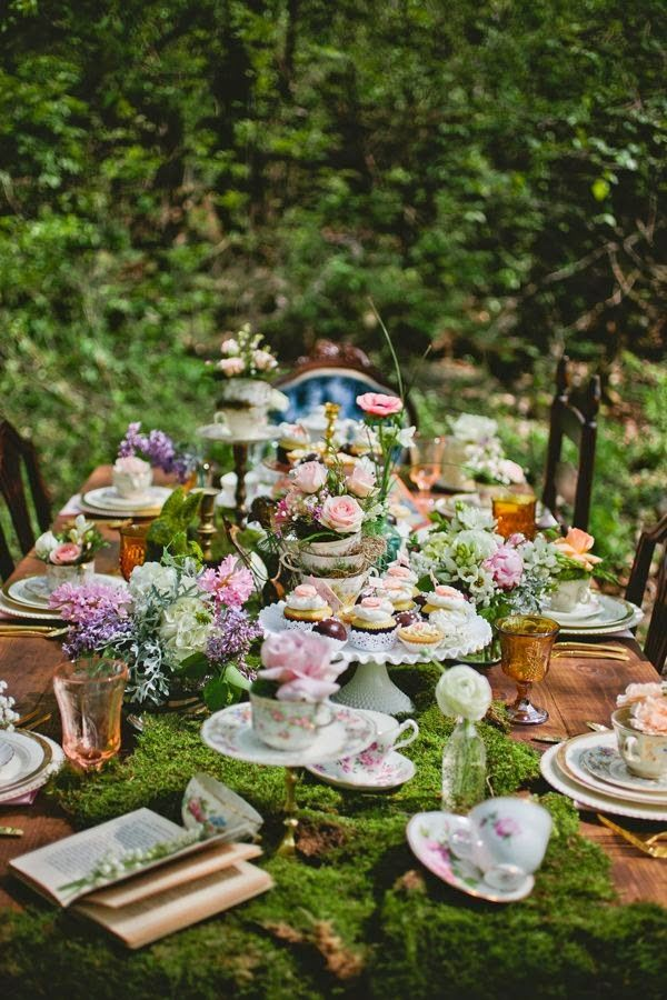 pretty pink tulips: Let\'s Have a Garden Party | Party Ideas ...
