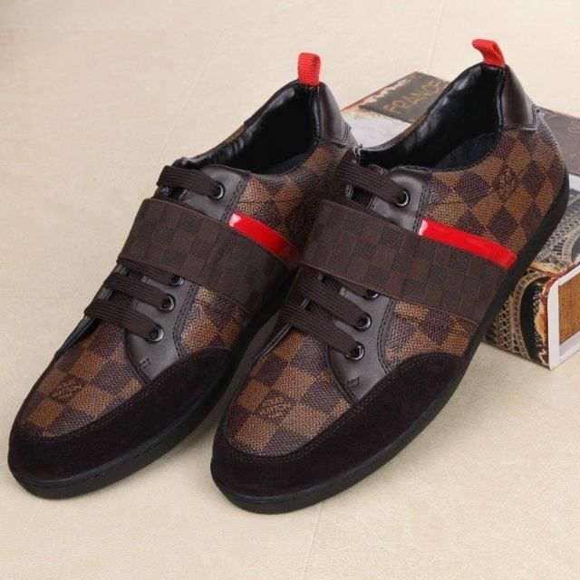 d546a9d9705d Louis Vuitton LV Leather shoes for men