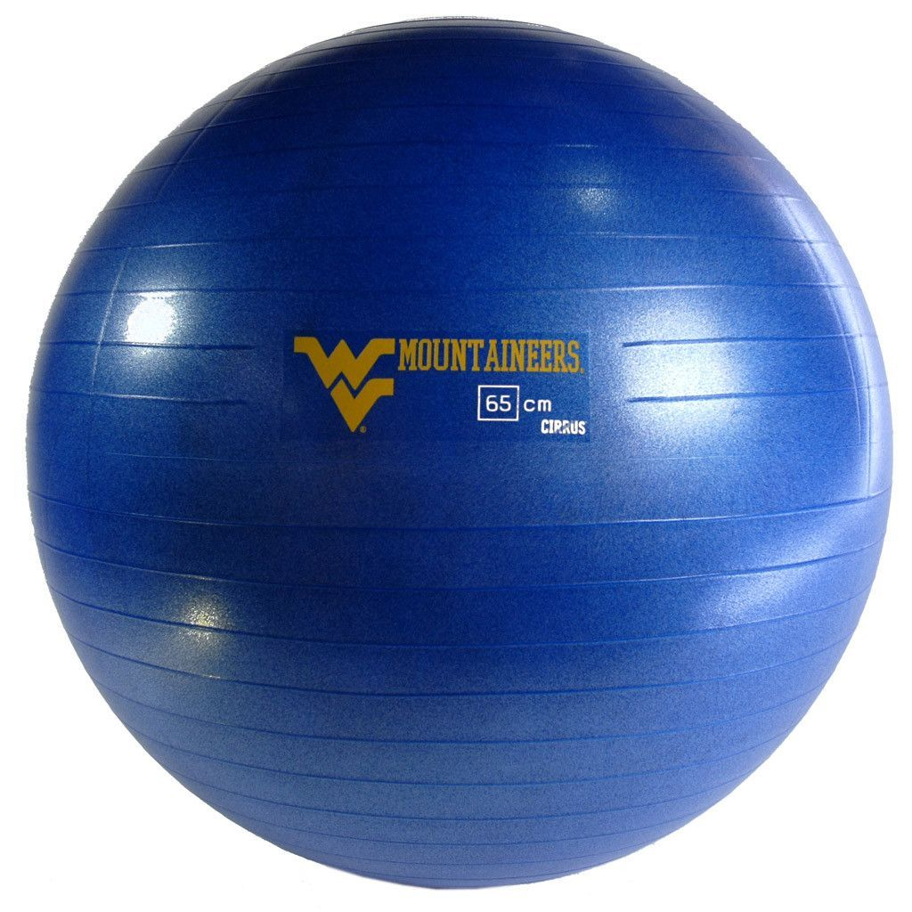 West Virginia Mountaineers Stability Ball