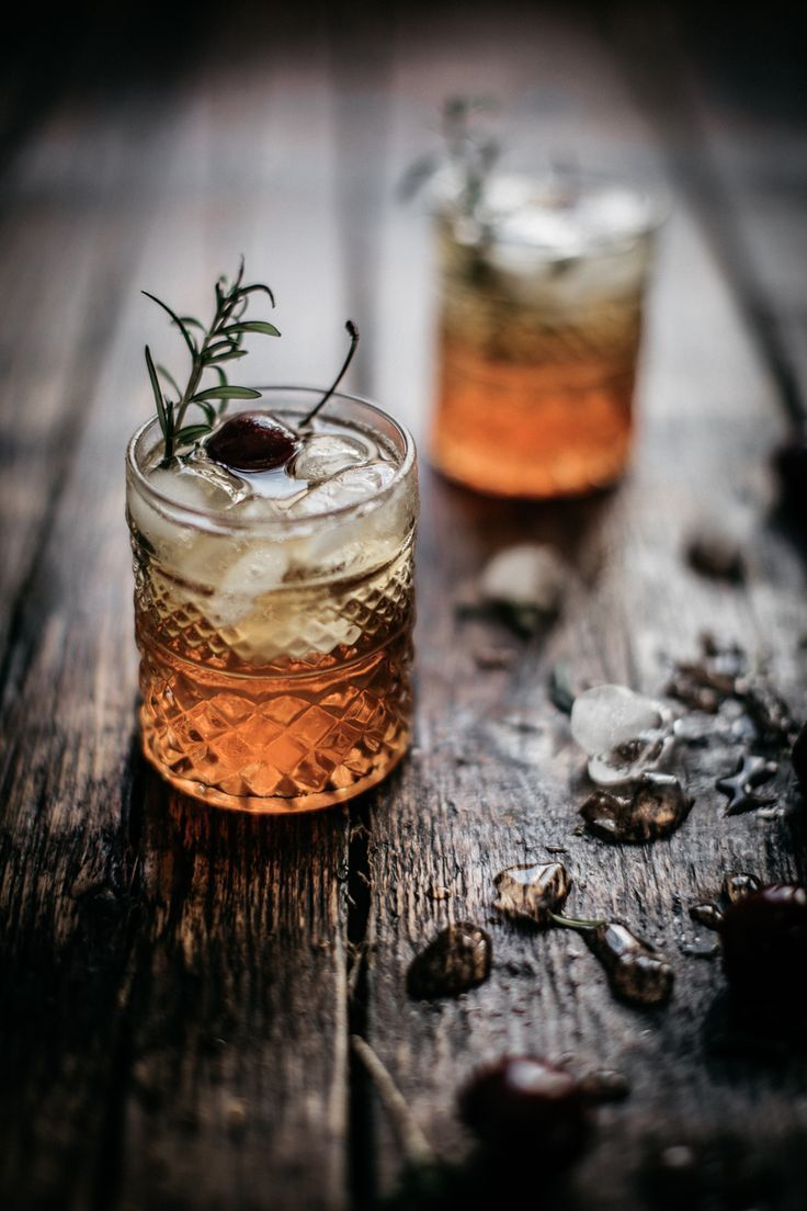 rum, orgeat & burnt rosemary.