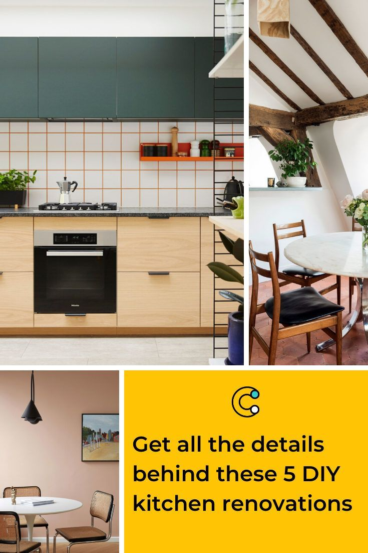 Get all the details behind these 5 DIY kitchen renovations#details #diy #kitchen #renovations