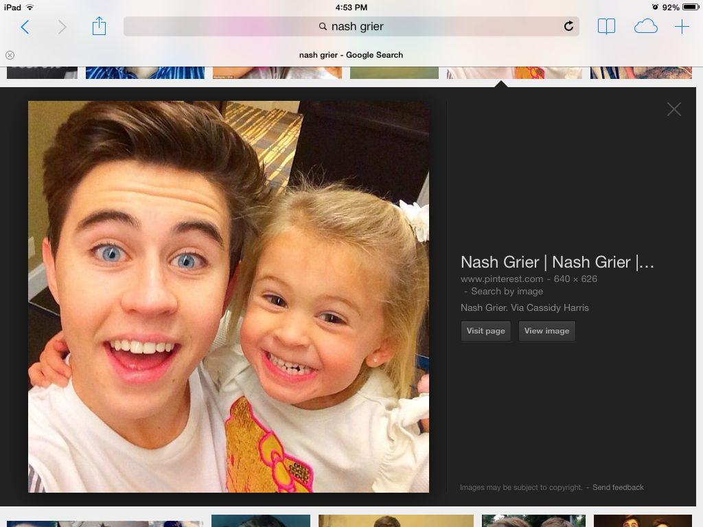 Nash's little sister skyland is my cousin Ella's best friend
