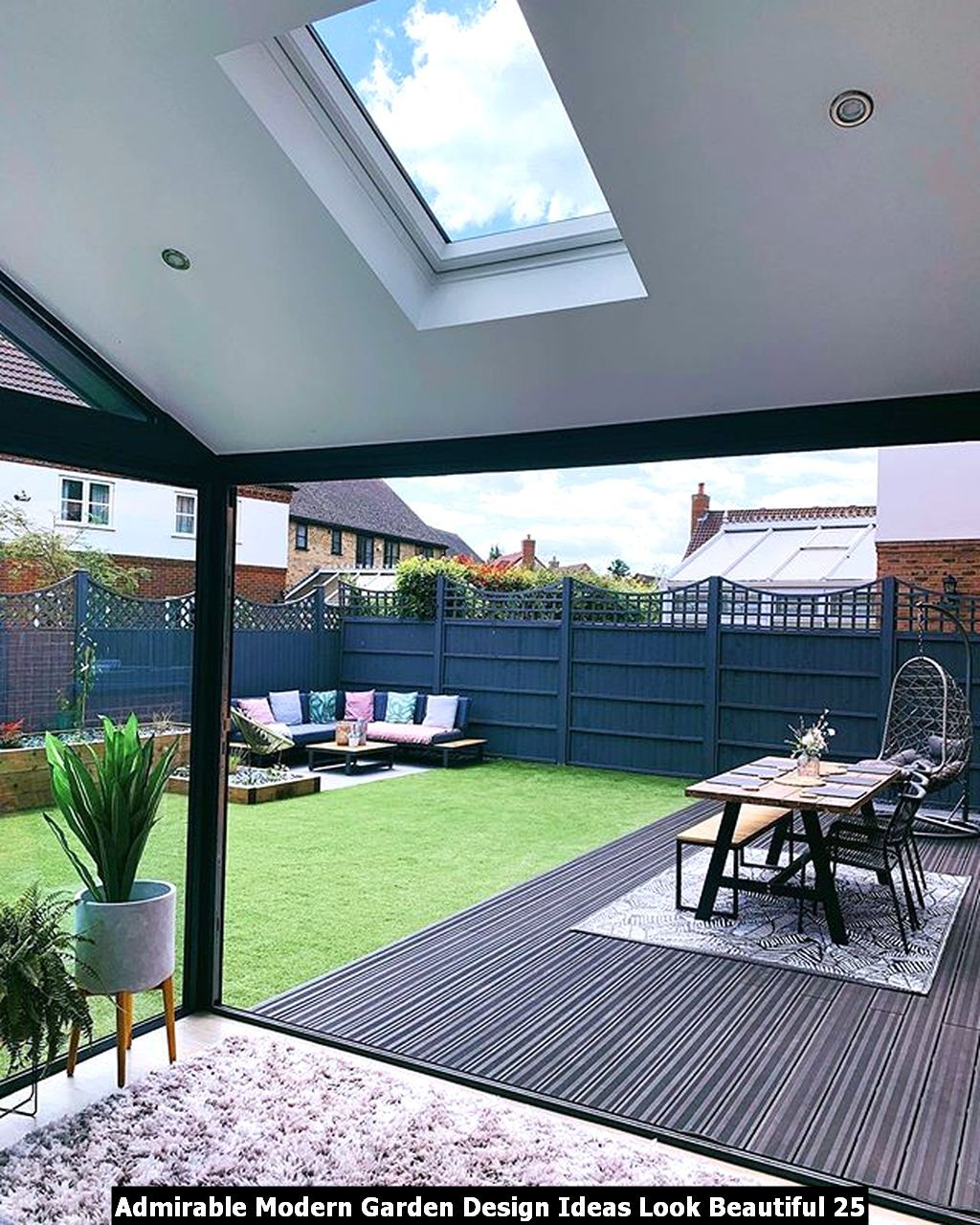 Admirable Modern Garden Design Ideas Look Beautiful Pimphomee Backyard Renovations Garden Room Extensions Back Garden Design