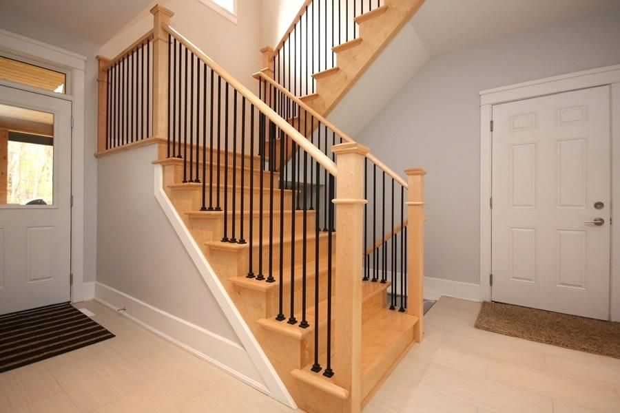 cheap stair railing stairs outstanding interior ideas ...