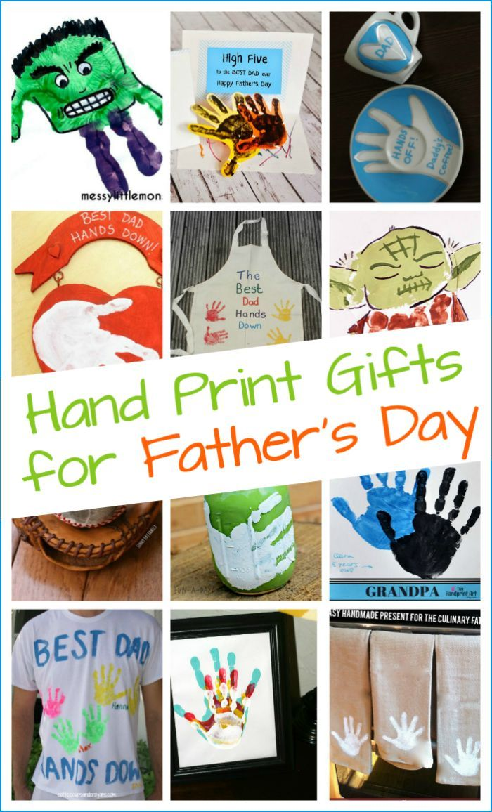 Handmade Father S Day Gifts From Kids Kids Fathers Day