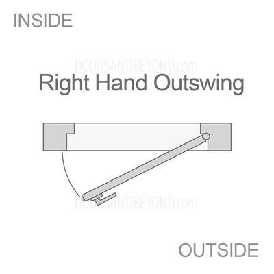 Right Hand Outswing Door Swing Direction Pinterest Interior