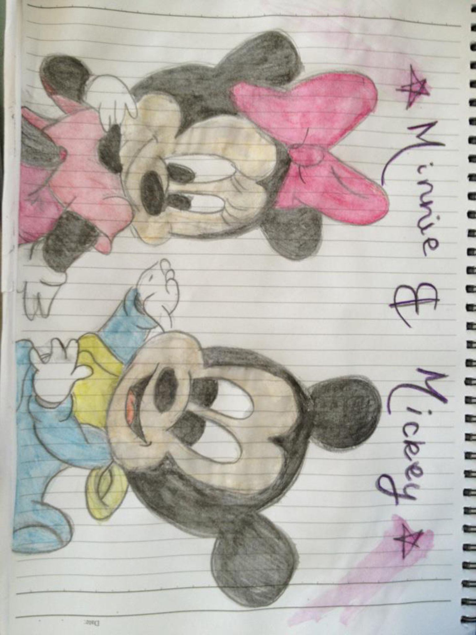 Baby Mickey and Minnie | Old Artwork | Pinterest