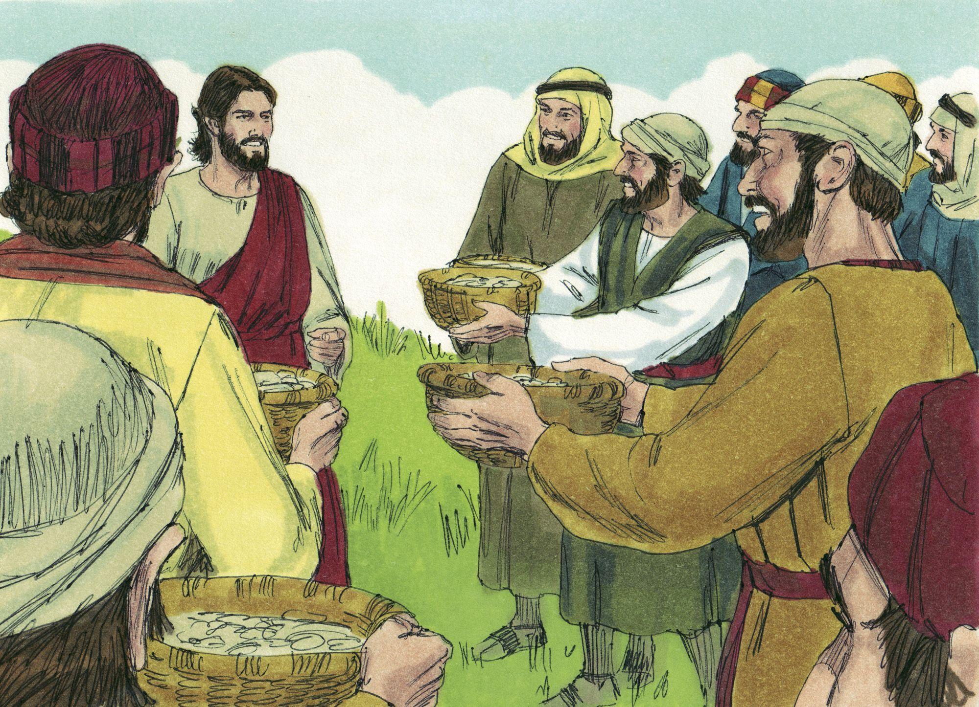 Skit Jesus Feeds Five Thousand