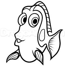 Trouver Doris Nemo Coloriage Doris Nemo Dibujos Letras De Bebe