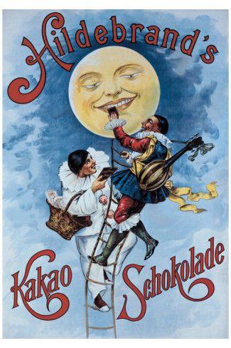 Hildebrand's Kakao Schokolade -  Vintage Chocolate Ad