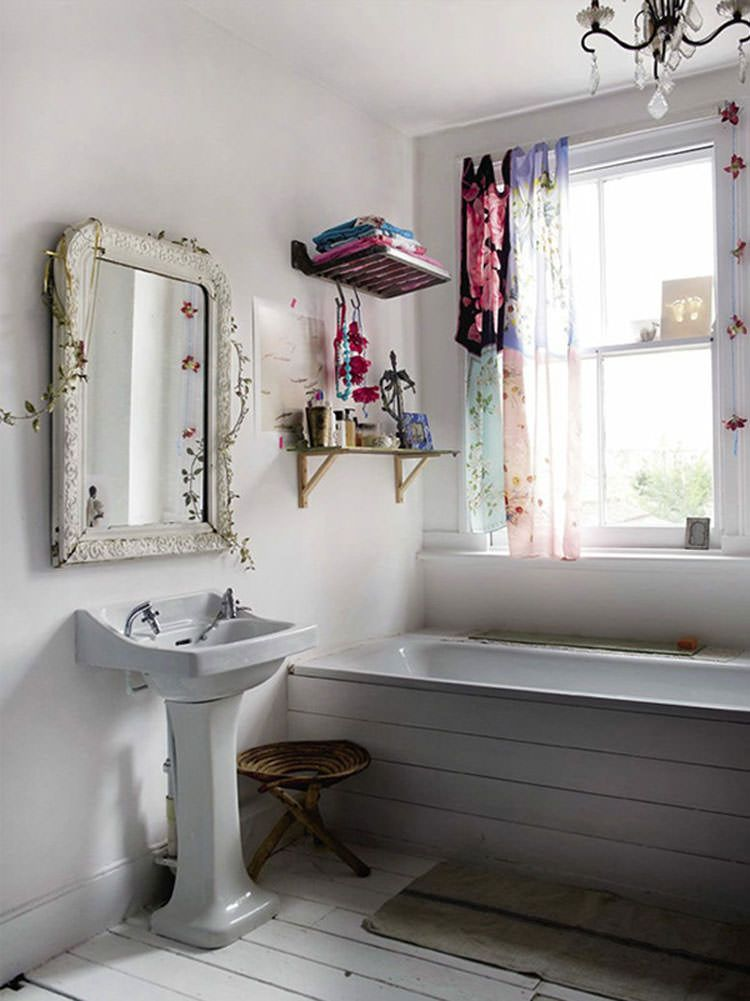 20 Bagni Shabby Chic Economici in Stile Provenzale  Home