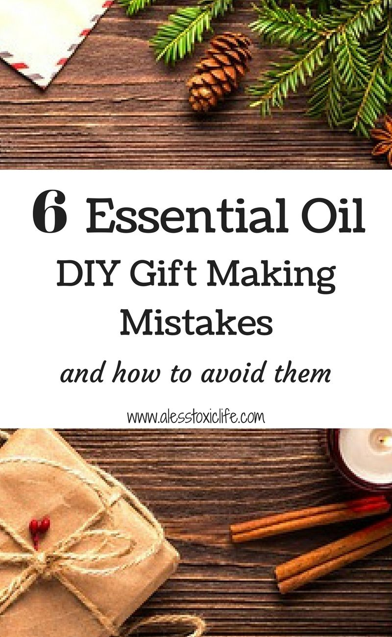 Gifts using essential oils. #DIYgifts #christmasgifts