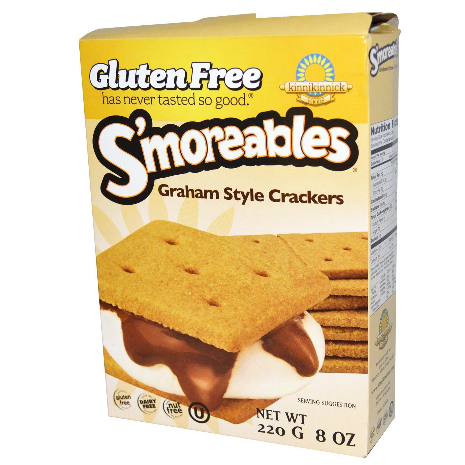 Kinnikinnick Foods S'moreables Graham Style Crackers 8 ...