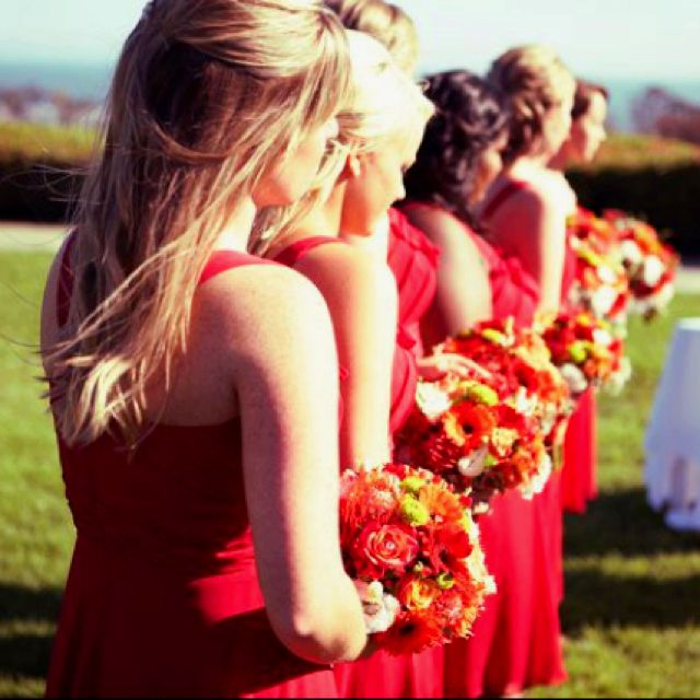 2013 Fall Most Colors Bridesmaids Are Popular What