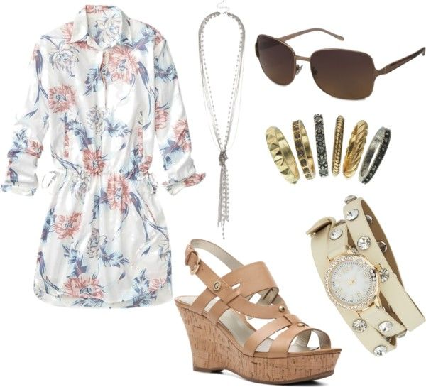 What I'd Like to Wear Wednesday: Summer Lunch Date