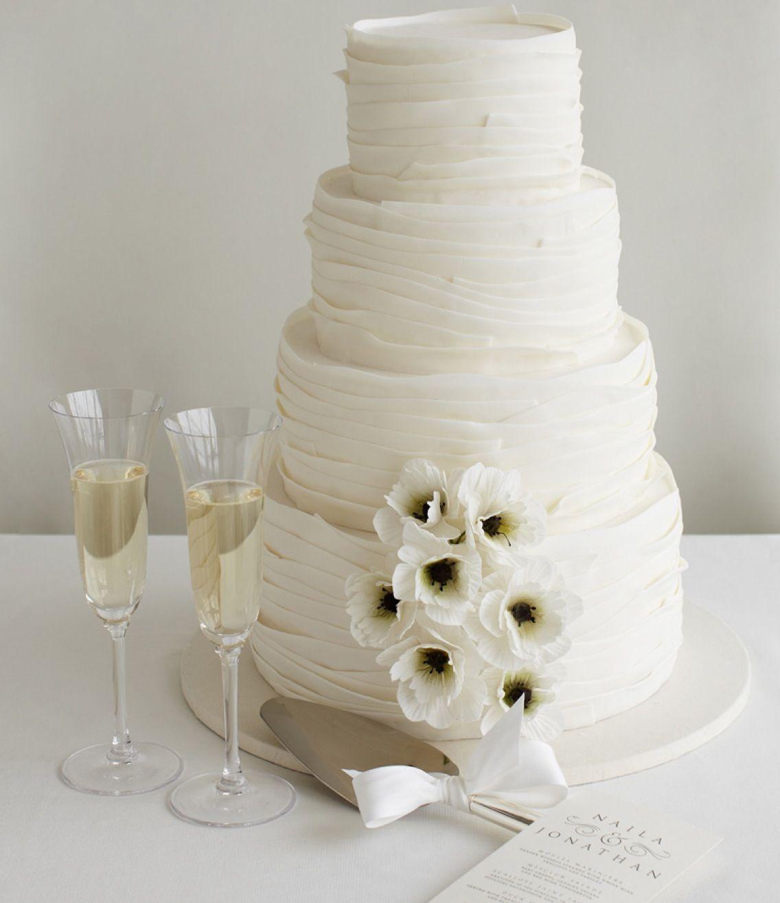 Tiered Buttercream Wedding Cake | Wedding cake ideas | Pinterest ...