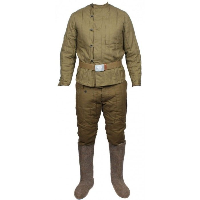 Soviet Wwii Russian Army Military Uniform Telogreika Fufaika