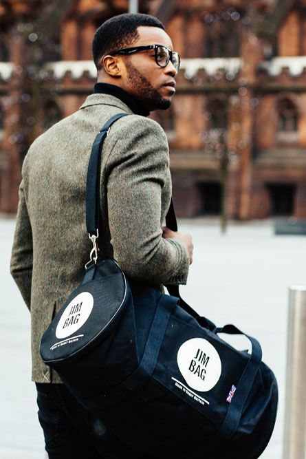 Black is the trend that's always right.  shop our holdalls and do the trend.  #JimbagStyle #fashion