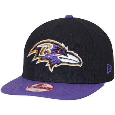 reputable site 336a5 50655 Baltimore Ravens New Era Southside Snap Original Fit 9FIFTY Adjustable  Snapback Hat - Black