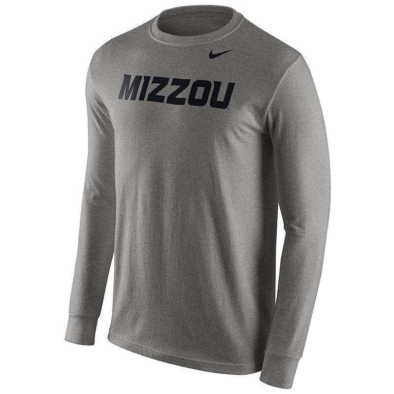 Men's Nike Missouri Tigers Wordmark Long-Sleeve Tee, Size: