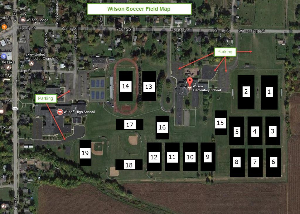 Field map wilson youth soccer league youth soccer