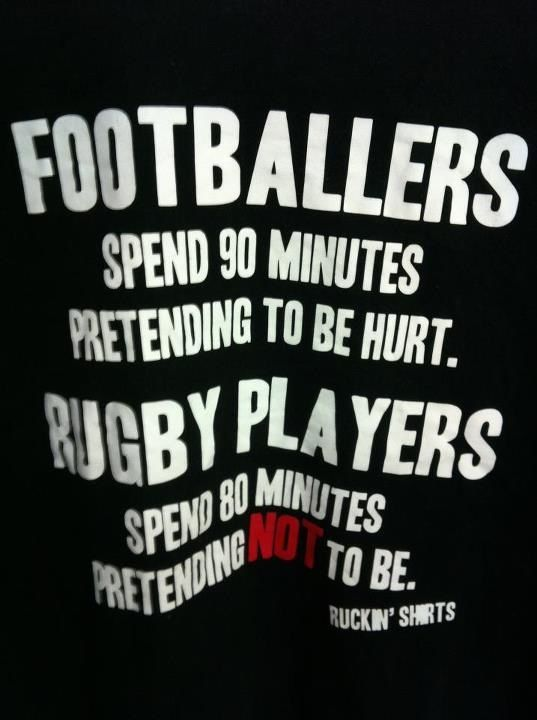 Pretending Rugby Quotes Rugby Team Rugby Players