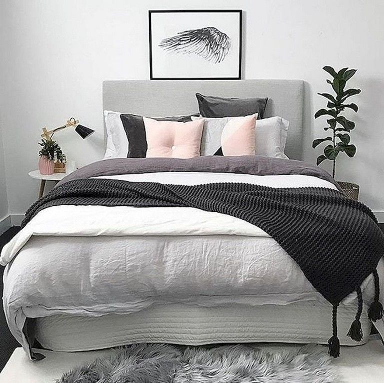 80+ Pretty Scandinavian Bedroom Design Trends