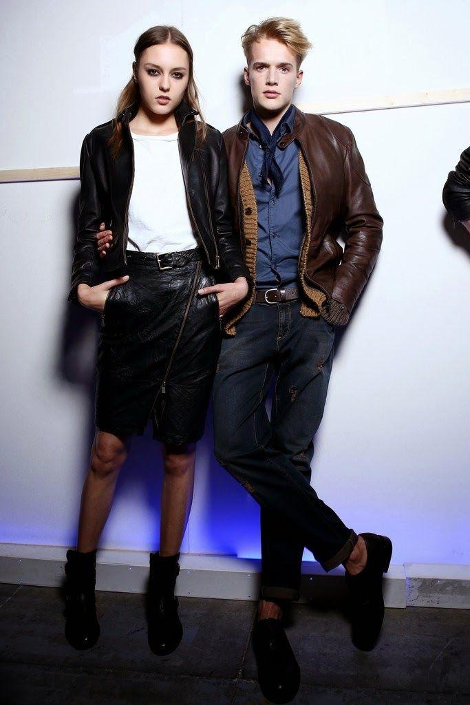 Backstage: Trussardi Jeans Fall/Winter 2015
