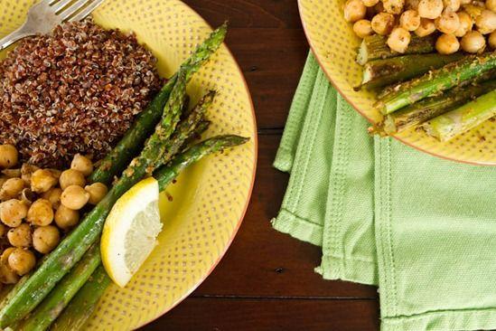 20-Minute Vegan Dinner for Two #recipes #vegan