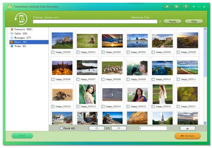 How To Recover Deleted Lost Photos From Android Phone Or Tablet Data Recovery Recover Deleted Photos Recover Photos
