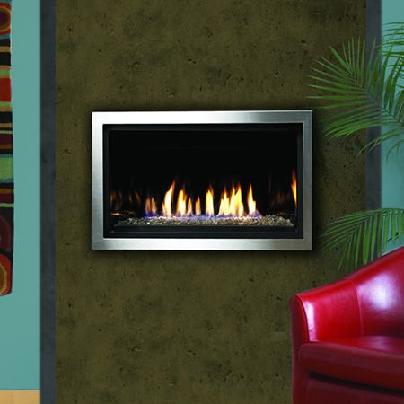 Kingsman Zdvrb3622 Zero Clearance Direct Vent Gas Fireplace