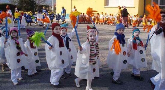 Ninot De Neu Kış Kostüm Okul