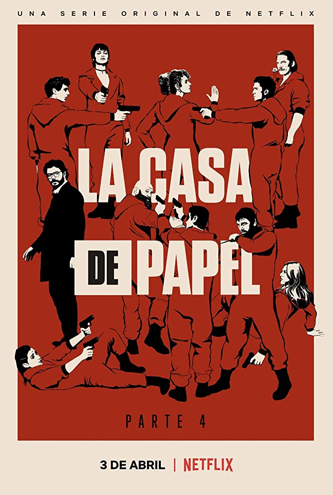 La Casa De Papel 2017 Poster Prints Movie Poster Wall Wall Art Pictures