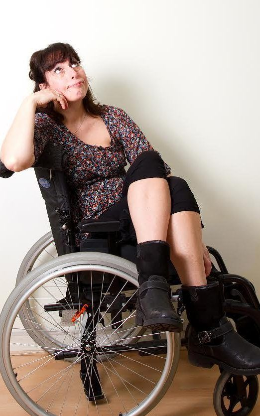 People in wheelchairs have sex