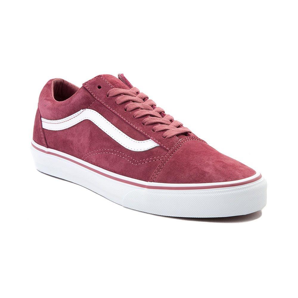 Vans Old Skool Premium Suede Skate Shoe Rose 497225