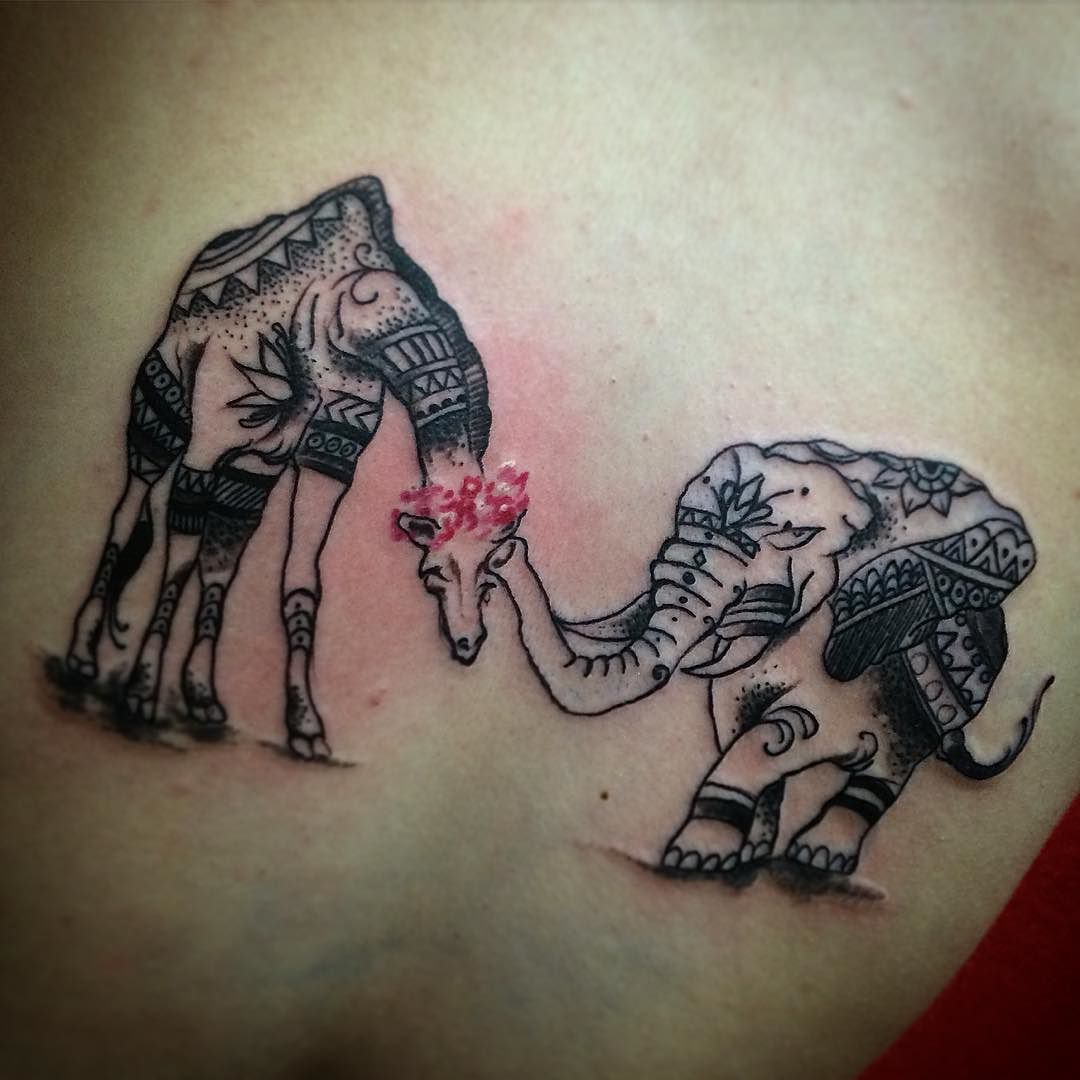 Follow and tag @inkedmagz to get featured Tattoo by Harry Serrano @xtremebodyarts #tattoo #tattoos #tattooist #tattooshop #tattoolife #tattoolifestyle #bodymod #bodymods #xtremebodyarts #harrytattoo #harryserrano #pr #puertorico #mayaguez #marginalterrace #mayaguezterrace #mandalatattoo #giraffe #giraffes #elephant #elephants #elephanttattoo #giraffetattoo by xtremebodyarts