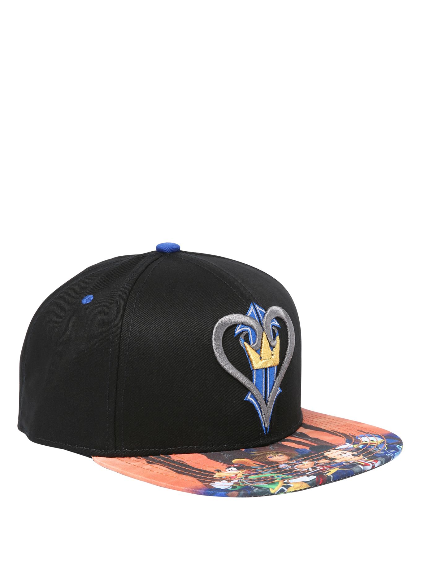 utterly stylish excellent quality newest collection Disney Kingdom Hearts Logo Snapback Hat | Hot Topic | Kingdom ...