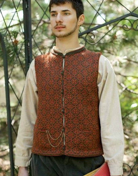 Henry Tilney\'s Vest - Jane Austen Knits Donna Kay | Brother Rabbit ...