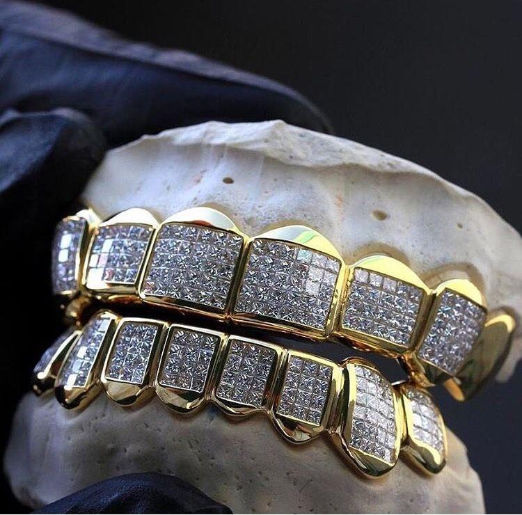 X Addigeneral Diamond Grillz Grillz Jewelry