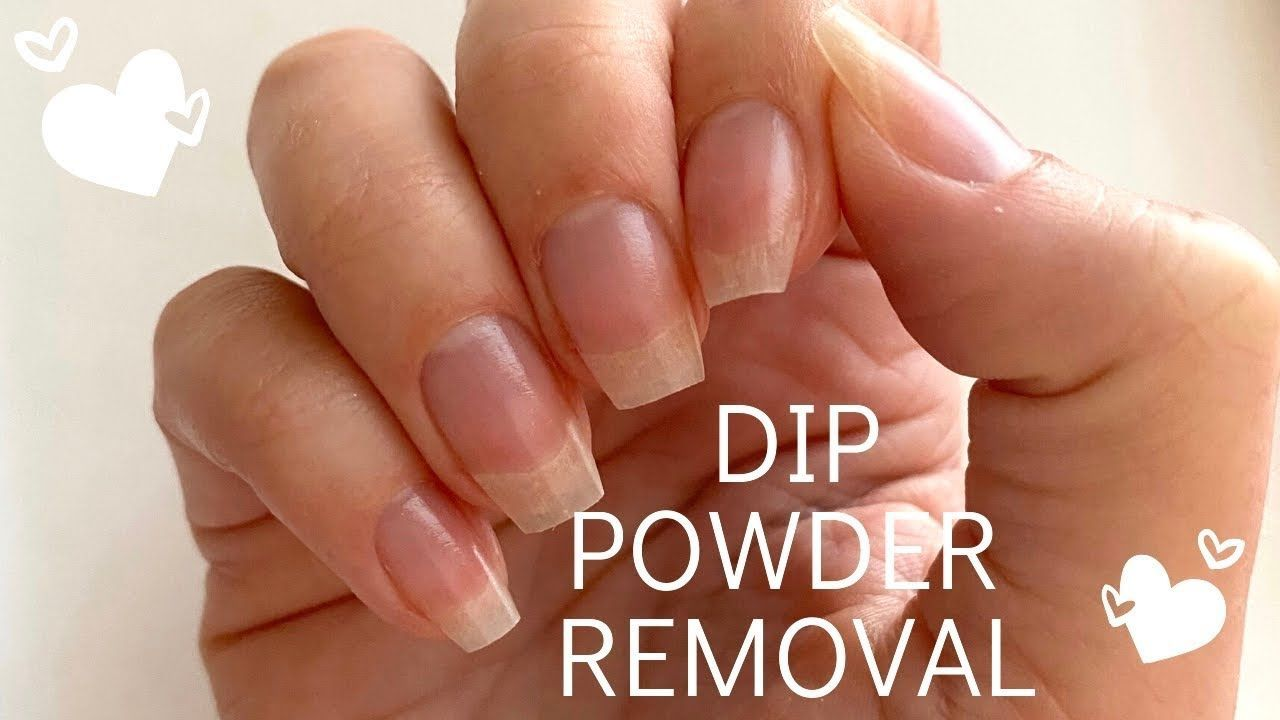 Remove Dip Powder Fast And Easy The Secret To Keeping Your Nails From Drying Out In Acetone In 2020 Acrylic Dip Nails Dip Powder Nails Dip Powder