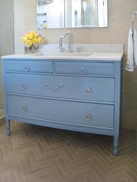 20 Upcycled And One Of A Kind Bathroom Vanities Home