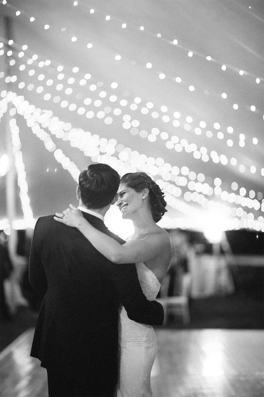love love love tented weddings with lots and lots of draped lighting... see the wedding on smp: http://www.StyleMePretty.com/2014/02/04/elegant-newport-estate-wedding/ Jenny Moloney Photography