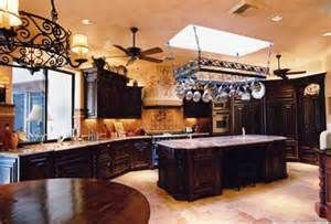Wonderful Tuscan #Kitchen With Black Oak Cabinets Download Photos Of Tuscan Kitchen