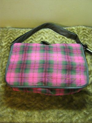 Love the bright fun colors in this very cool messenger bag!