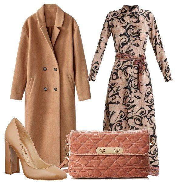 cappotto lungo donna vestito